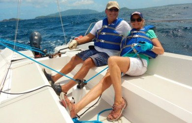 Go for the Gold: New Racing Clinic in the British Virgin Islands
